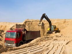 Развитие - Песок с карьера